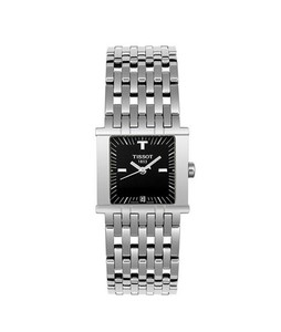 Tissot T-Trend Six-T Womens Watch Silver (T02118151)