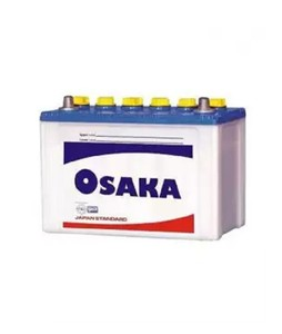 Osaka 10 Plates Acid Battery - White (S75+)