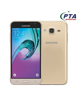 Samsung Galaxy J3 2016 4G Dual Sim Gold (J320FD) - Official Warranty