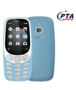 Nokia 3310 3G Dual Sim Blue - Official Warranty