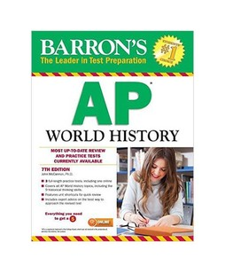 Barrons AP World History Book 7th Edition