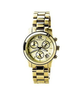 Michael Kors Mini Runway Womens Watch Gold (MK5384)
