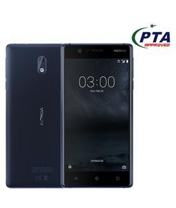 Nokia 3 16GB Dual Sim Tempered Blue - Official Warranty