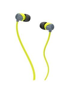 Skullcandy JIB In-Ear Headphones Grey/Lime (S2DUFZ-385)