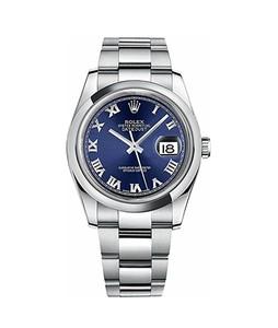Rolex Datejust 36 Mens Watch Silver (116200-BLURO)