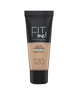 Maybelline New York Fit Me Matte Poreless Foundation 120 Classic Ivory