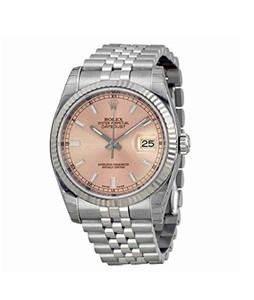 Rolex Datejust Mens Watch Silver (116234PSJ)