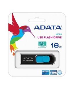 ADATA 16GB USB Flash Drive Black (UV128)