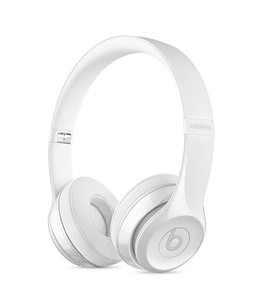 Beats Solo 3 Wireless On-Ear Headphones Gloss White