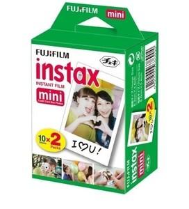 Fujifilm Instax Mini 9 Instant Camera Smokey White - With 20 Sheet - 1 Year Replacement Warranty