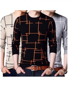 ISEL Pack Of 3 HD Lining Boxes T-Shirts For Men