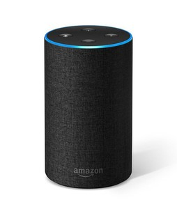 Amazon Echo 2nd Generation Smart Speaker Charcoal Fabric
