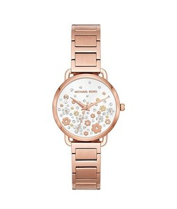 Michael Kors Portia Womens Watch Rose Gold (MK3841)
