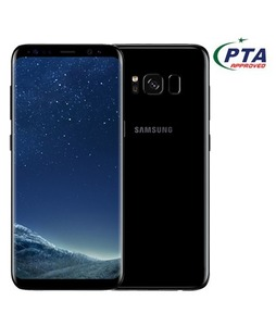 Samsung Galaxy S8 64GB Dual Sim Midnight Black (G950FD) - Official Warranty + 5100mAh Power Bank