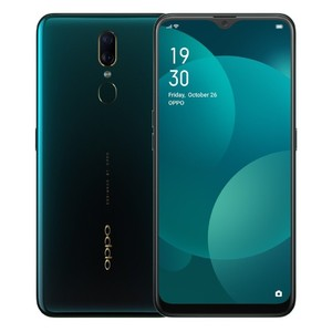 Oppo F11 64GB 4GB RAM Dual Sim Aurora Green - Official Warranty