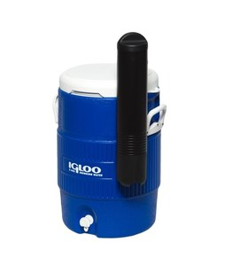 Igloo 5 Gallon Seat Top Water Cooler With Cup Dispenser Blue (42026)