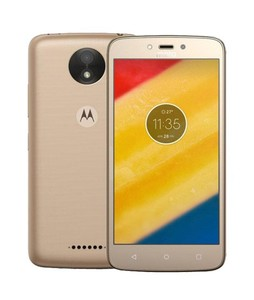 Motorola Moto C Plus 16GB Dual Sim Fine Gold (XT1723) - Official Warranty