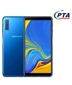 Samsung Galaxy A7 2018 128GB 4GB Dual Sim Blue (A750FD) - Official Warranty