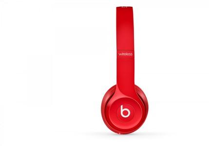 Beats Solo2 Wireless On-Ear Headphone Red