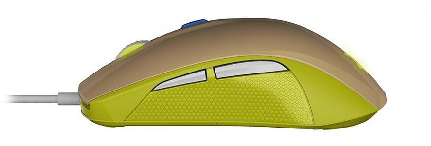 SteelSeries Rival 100 Optical Gaming Mouse Green