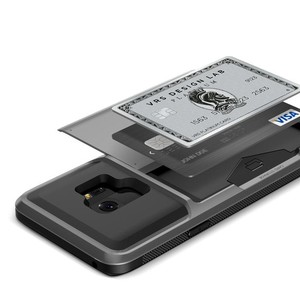 VRS Design Damda Glide Series Steel Silver Case For Galaxy S9