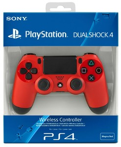Sony Dualshock 4 Wireless Controller For PS4 Red
