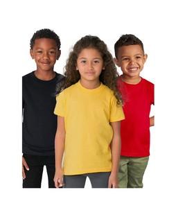 C-Tees Pack Of 3 Plain T-Shirt For Kids Multi (CKT10061)