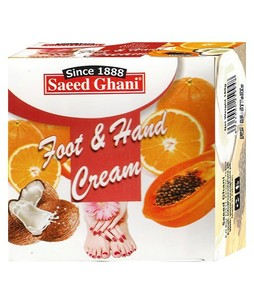 Saeed Ghani Foot And Hand Cream (180gm)