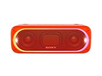 Sony Portable Wireless Bluetooth Speaker Red (SRS-XB30)