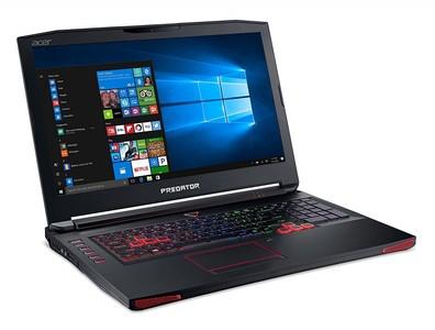 Acer Predator 17 Core i7 7th Gen 16GB 1TB 256GB SSD GeForce GTX 1070 Gaming Laptop (G9-793-79V5) - Without Warranty