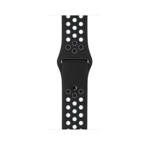 Apple iWatch Series 2 42mm Space Gray Aluminum Case with Black/Cool Gray Nike Sport Band (MNYY2)