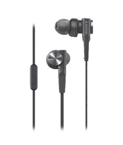 Sony Extra Bass Sports In-Ear Headphones Black (XB55AP)