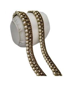 SaharCollection4u Pearl Antique Anklet Golden