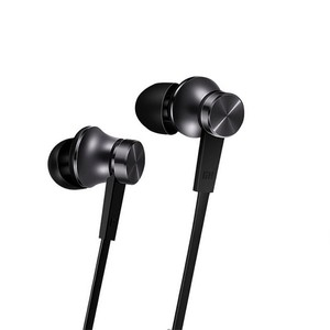 Xiaomi Piston Wired Control Earphone With Mic Black (HSEJ03JY)