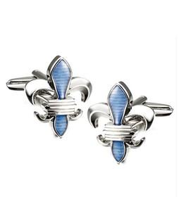Julke Mystic Cufflinks Silver/Blue