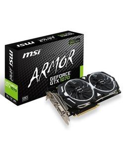 MSI GeForce GTX 1070 ARMOR 8G OC 8GB Graphics Card