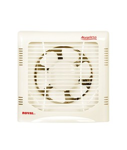 Royal Plastic One Way Exhaust Fan 8 Off White