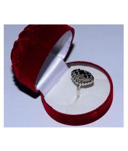 Gilgit Bazar Sapphire Real Stone Ring For Women (GB433)