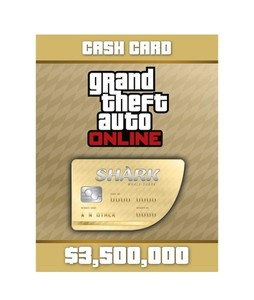 GTA V Whale Shark Cash Card For PS4 - E-mail Delivery