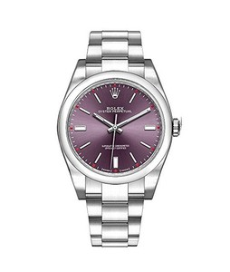 Rolex Oyster Perpetual Mens Watch Silver (114300-RDGSO)
