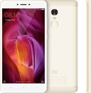 Xiaomi Redmi Note 4 64GB 4GB RAM Dual Sim Gold - Official Warranty