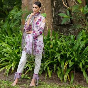 Maheen Taseer Luxury Womens Lawn 2018 (MT-7B)