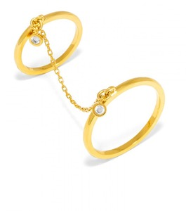 Baublebar Chain Link Gold Ring