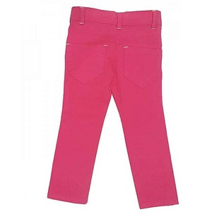 Bindas Collection Cotton Stretchable Pant For Girls Pink (IL-0281)