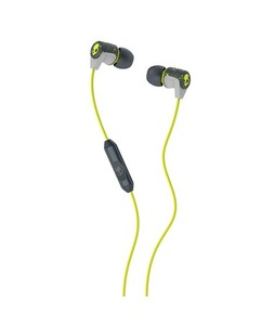 Skullcandy Riff In-Ear Earphones With Mic Hot Lime