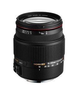 Sigma 18-200mm f/3.5-6.3 DC Macro OS HSM Lens For Canon Digital Cameras