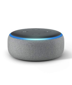 Amazon Echo Dot 3rd Generation Smart Speaker Heather Gray
