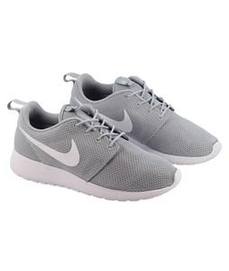 BoultonMarket Roshe Run Shoes For Men Grey/White