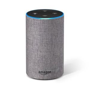 Amazon Echo 2nd Generation Smart Speaker Heather Gray Fabric