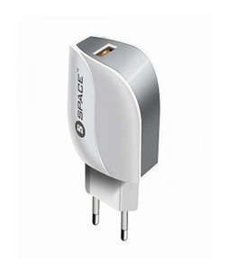 Space Adaptive Fast charger white (wc-106)
